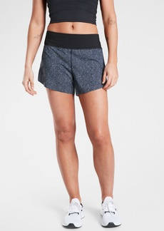 Athleta Printed Run With It 3.5&#34 Short