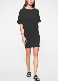 Athleta Pronto Pleated Dress