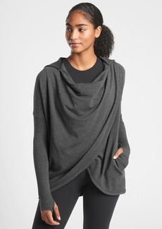 Athleta Purana Wrap Sweatshirt