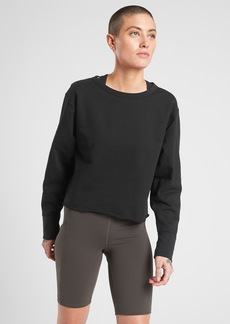 Athleta Raw Edge Sweatshirt