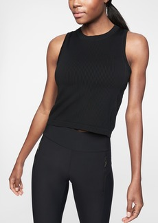 Athleta Renew High Hip Length Ribbed Tank