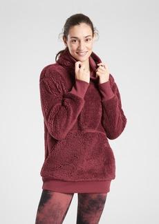 Athleta Reversible Sherpa Sweatshirt
