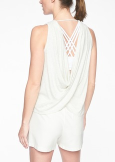 Athleta Revive Drape Back Tank