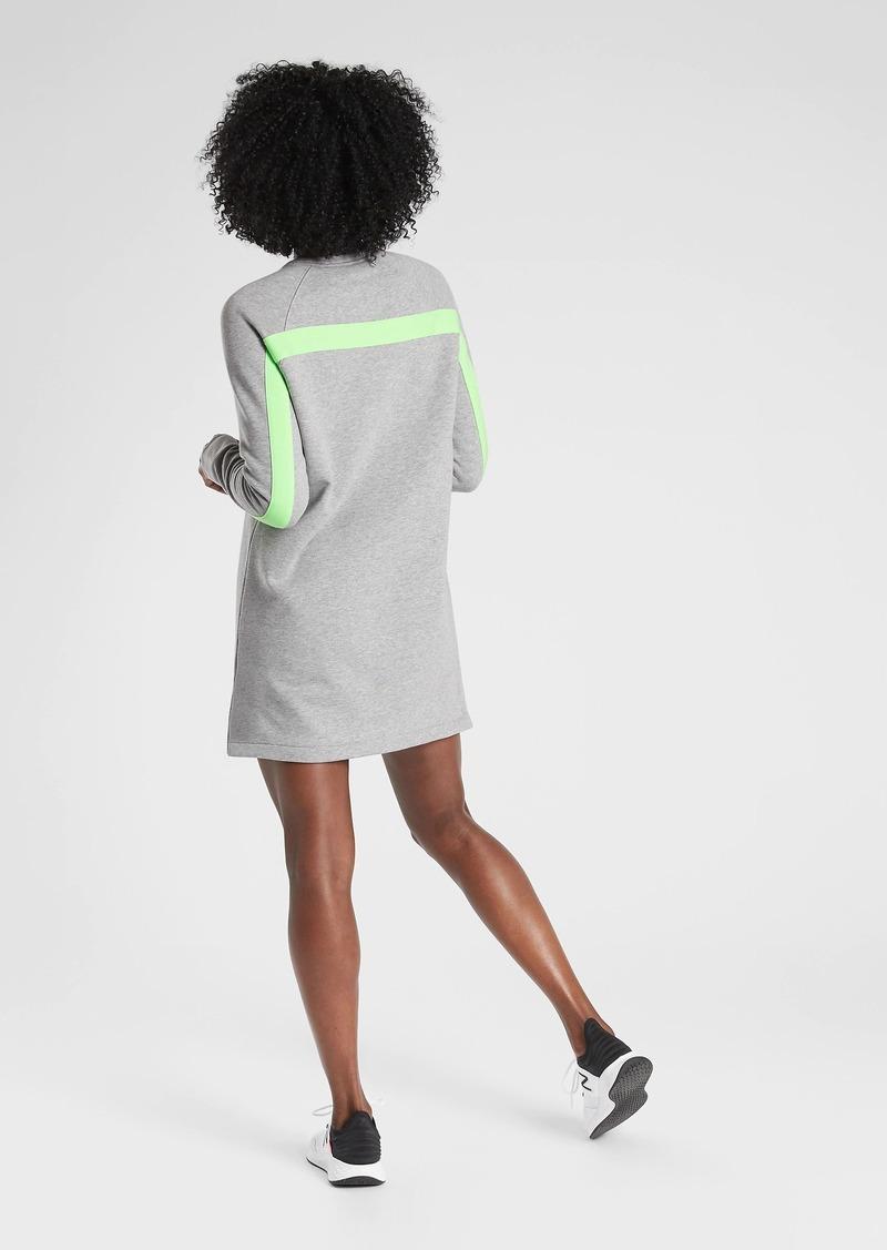 Athleta Round Trip Sweatshirt Dress