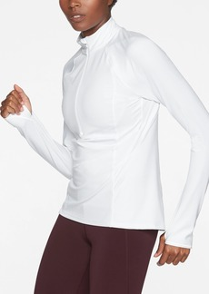 Athleta Run Free Half Zip In Powervita&#153