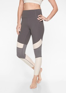Athleta Salutation Modblock 7/8 Tight In Powervita