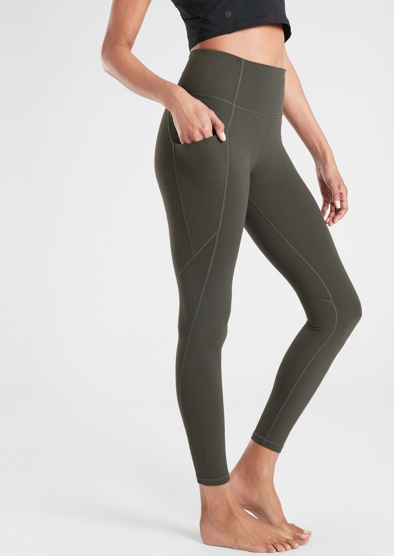 Athleta Salutation Stash Pocket Tight In Powervita&#153