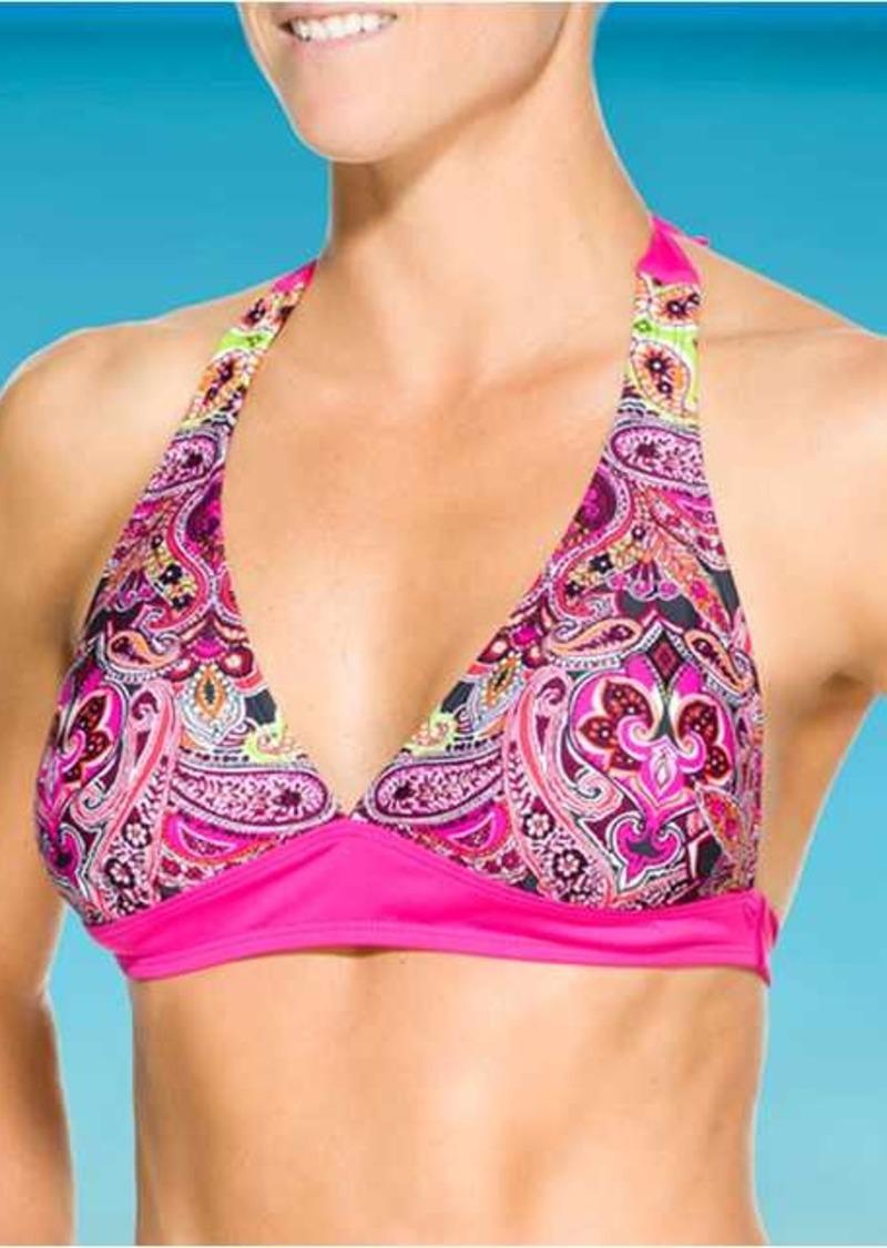 Athleta Samana Banded Halter Bikini