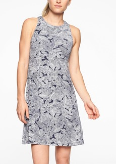 Athleta Santorini Printed High Neck Dress