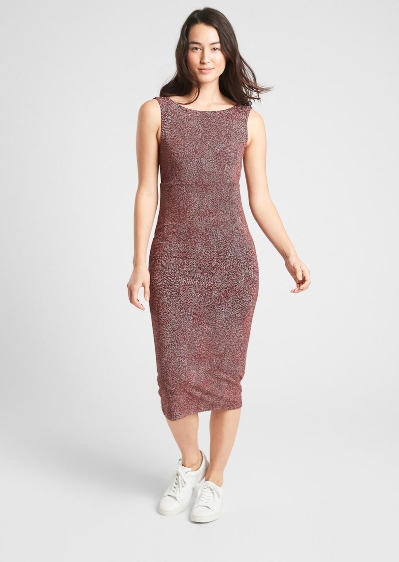 Athleta Santorini Midi Printed Dress