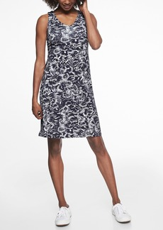 Athleta Santorini V Neck Printed Dress