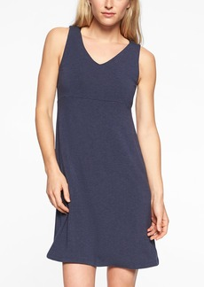 Athleta Santorini V Neck Solid Dress