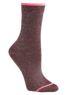 Athleta Shimmer Crew Sock