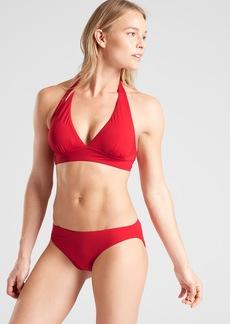 Athleta Shirred Halter Bikini