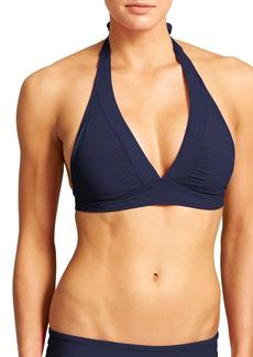 Athleta Shirrendipity Halter Bikini Top