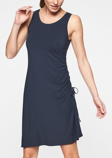 Athleta Side Gather T-Shirt Dress