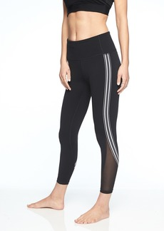 Athleta Side Stripe Salutation 7/8 Tight