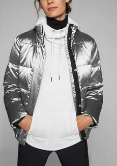 Athleta Silver Jacket