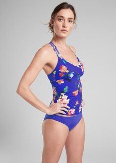 Athleta South Swell Blossom Tankini
