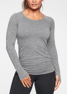 Athleta Speedlight Heather Top