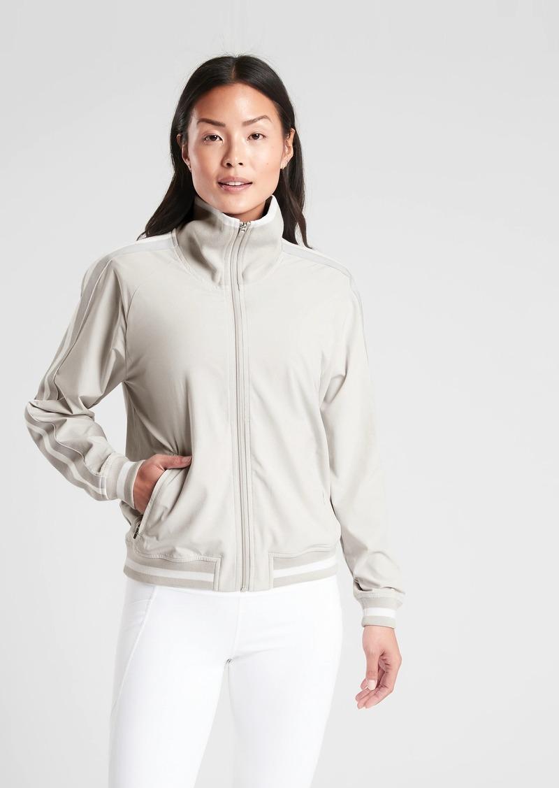 Athleta Sprint Track Jacket in Featherweight Stretch™