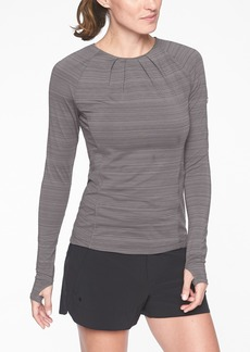 Athleta Stinson Back Zip Top