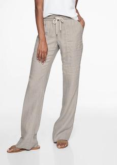 Athleta Stripe Bali Linen Trouser