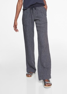 Athleta Stripe Bali Linen Trouser