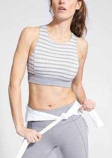 Athleta Stripe Deep Breath Bralette