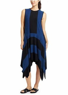 Stripe Fluid Dress