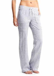 Athleta Stripe Linen Pant
