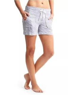 Athleta Stripe Linen Short