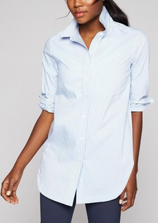 Athleta Stripe Long and Lean Shirt 2.0