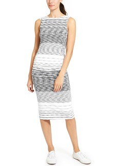 Athleta Stripe Midi Tank Dress