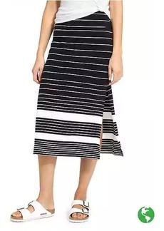Athleta Stripe Oceana Midi Skirt