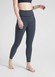 Athleta Stripe Salutation 7/8 Tight In Powervita
