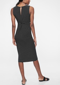 Athleta Stripe Twist Back Dress