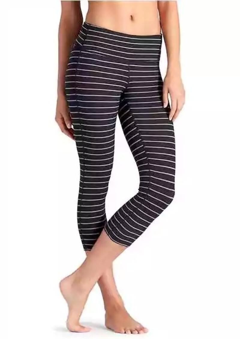 Athleta Stripes Chaturanga Capri Casual Pants Shop It