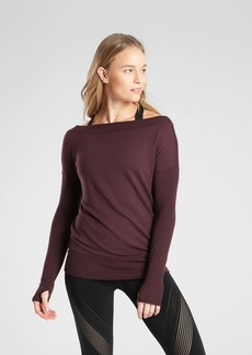 Athleta Studio Barre Sweatshirt