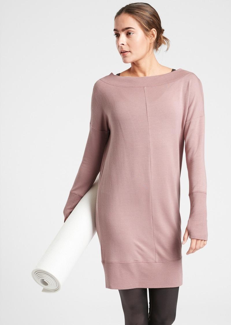 Athleta Studio Barre Sweatshirt Dress 2.0