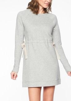 Athleta Studio Cinch Sweatshirt Dress