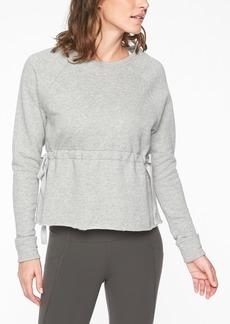Athleta Studio Cinch Sweatshirt