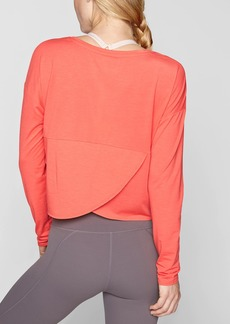Athleta Studio Crop Long Sleeve