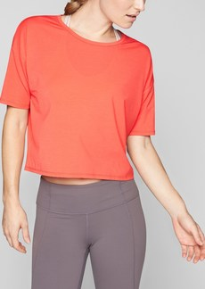 Athleta Studio Crop Tee