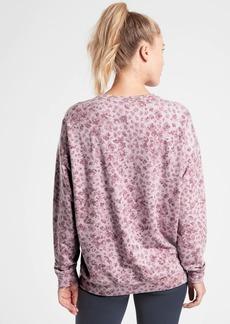 Athleta Studio to Street Print Sweatshirt