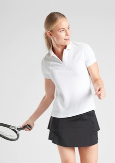 Athleta Tennis Polo Short Sleeve