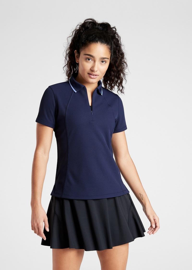 Athleta Tennis Polo Short Sleeve