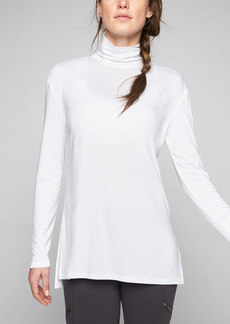 Athleta Threadlight Layering T-Neck Long Sleeve