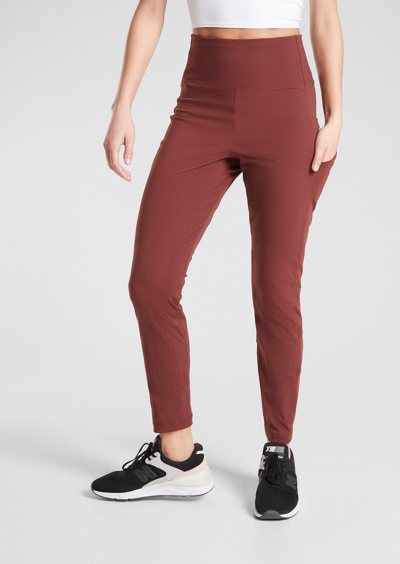 Athleta Trekkie Hybrid Crop Tight
