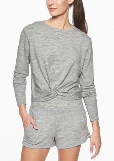 Athleta Twist Front Sweatshirt